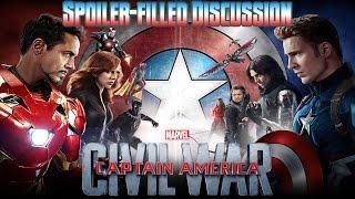Captain America Civil War Spoiler-Filled Discussion *SPOILERS*