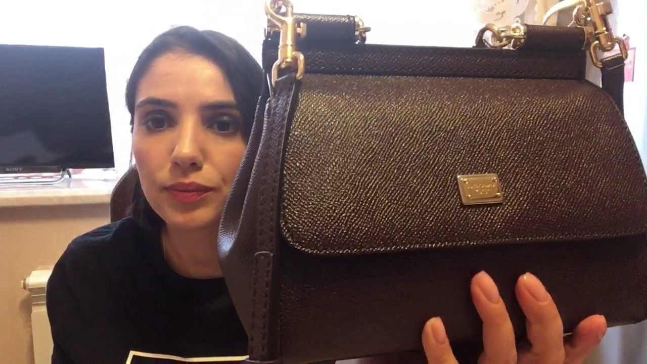 6208322b5c20 dolce & gabbana miss sicily mini. - YouTube