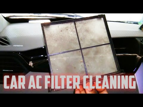 How to Clean Car AC Filter || Kuv100 AC Filter Cleaning