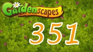 Gardenscapes Level 351 Walkthrough