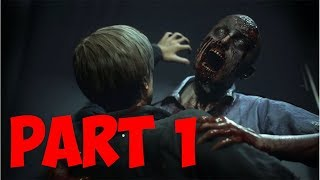 Resident Evil 2 (Remake) - FAT ZOMBIES & TYLER  PERRY??  - Part 1 Gameplay