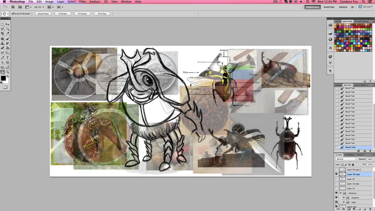 designing characters using references designing characters 2 using references