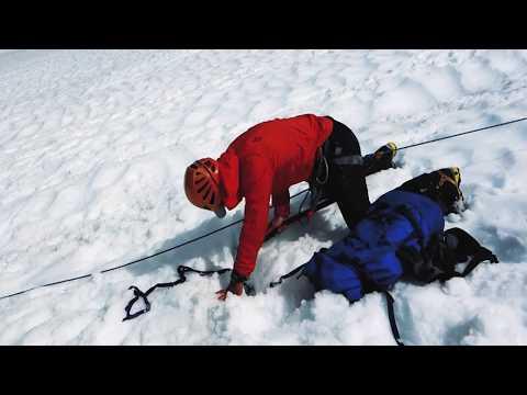 Demonstrating Full Crevasse Rescue