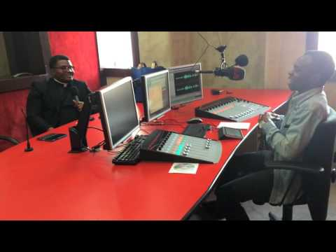 Rev.FICO's Radio Interview at 99.9 Kiss FM Abuja, Nigeria