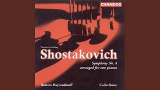 Symphony No. 4 in C Minor, Op. 43 (version for 2 pianos) : I. Allegretto poco moderato - Presto