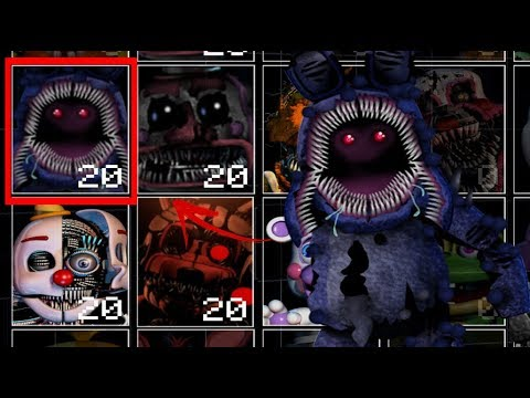 Twisted Withered Bonnie dans UCN (UCN Mods)