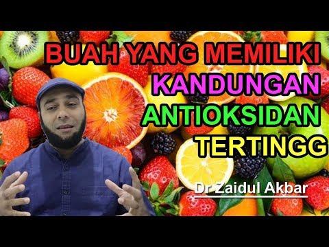 Dr Zaidul Akbar - 5 Buah Yang Memiliki Kandungan Antioksidan TertinggI