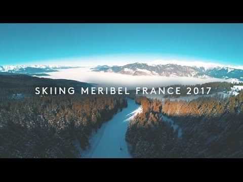 Ski trip to Meribel, France in January 2017, DJI OSMO, DJI Phantom