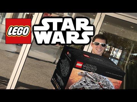 Getting the LEGO UCS Millennium Falcon... sort of!