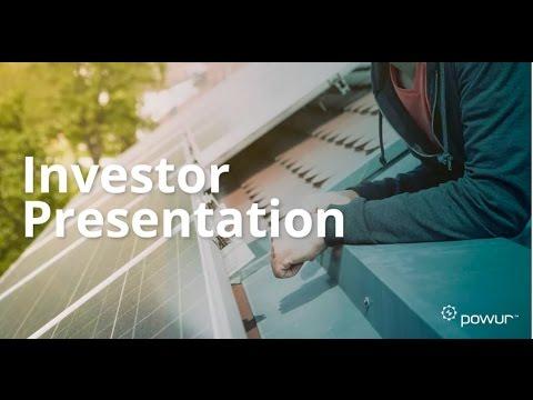 Powur Investor Presentation [Time-Sensitive]