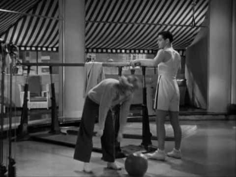 Dancing Lady 1933 - Gym Scene