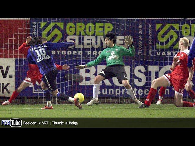 2006-2007 - Beker Van België - 04. Kwartfinale - KV Kortrijk - Club Brugge 1-1