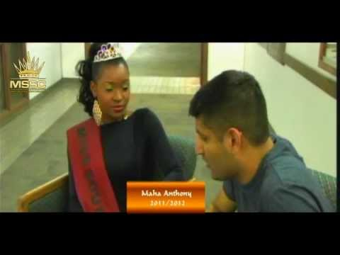 Miss South Sudan Canada 2011: Maha Anthony interview with Zarif Alibhai