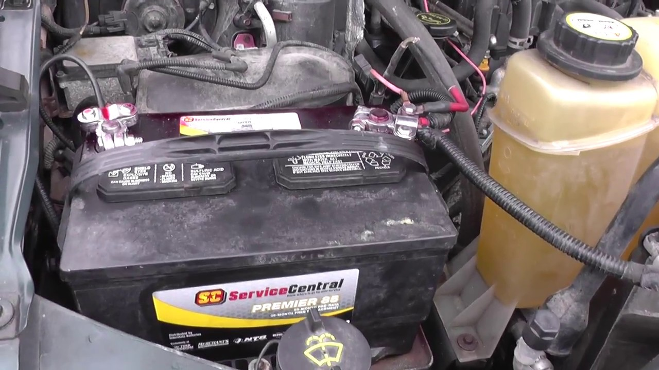 How To Replace Change Battery On Ford Super Duty Pick Correct One