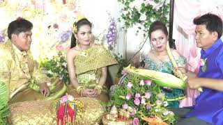 Khmer wedding events, Cambodia wedding ceremony,  Bride Tun Sokry, Groom Un Bunthoeun 10
