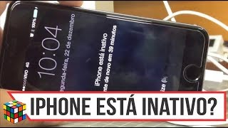 iPhone inativo 5, 5s, 6, 6s, 6s plus, 7, 8 e iPhone X   iPhone Disable