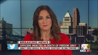 Baltimore officers indicted in Freddie Gray death case