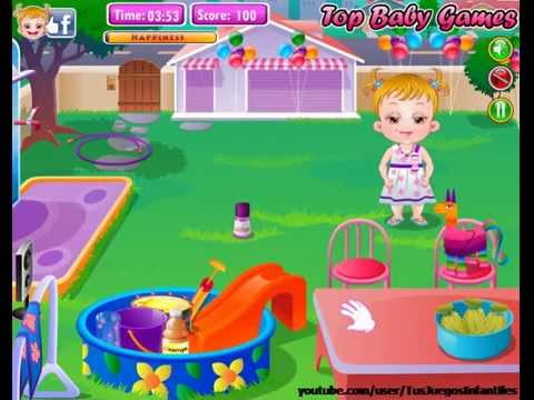 Baby Hazel - Backyard Party (Funny Baby Games) - YouTube