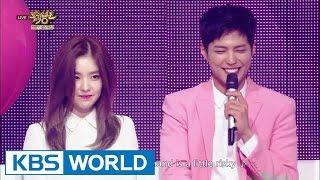 Park Bo Gum & IRENE - 45.7cm [Music Bank Goodbye MC Special / 2016.06.24]