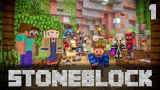 StoneBlock Modpack Server Ep. 1 All Together Now!