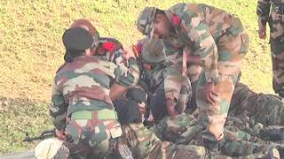 Afghanistan military lady officers training in Chennai OTA