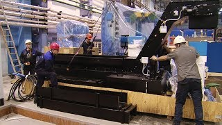 Монтаж новых станков Jobs в цехе № 54 ВСМПО