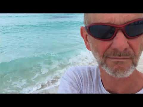 Bahamas Beach Breakfast and walk