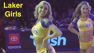 Laker Girls Los Angeles Lakers Dancers - Nba Dancers - 12/1/2019 4th Qtr Dance Performance