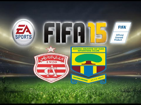 FIFA 15 Gameplay Club Africain vs Hearts Of Oak