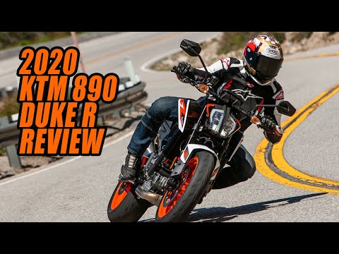 2020 KTM 890 Duke R Review