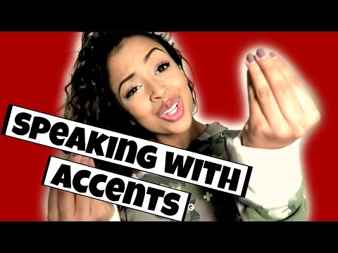 Thumbnail: IM FROM THE WORLD! SPEAKING WITH ACCENTS | Lizzza