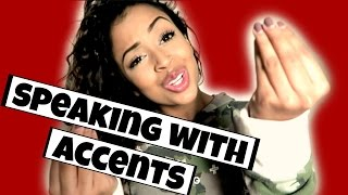 IM FROM THE WORLD! SPEAKING WITH ACCENTS | Lizzza thumbnail