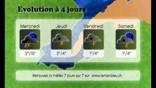 La météo de Maria - Lundi 2 mars - Calotype