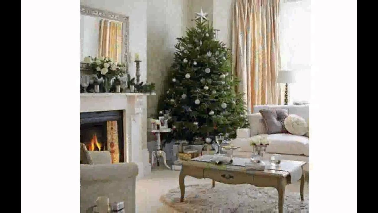 Living Room Christmas Decor Christmas Decorating Ideas For Small Spaces Youtube