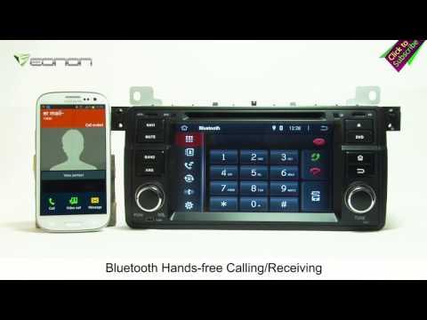 Eonon GA5150F BMW E46 Android 4.4.4 Quad-Core Car DVD GPS with WiFi, 3G & Capacitive Touch Screen