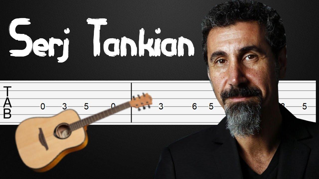 Sky Is Over - Serj Tankian Guitar Tutorial, Guitar Tabs, Guitar Lesson