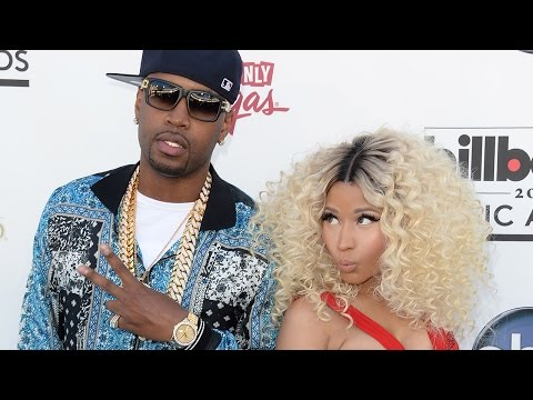Nicki Minaj DISSES Ex Safaree Samuels On Stage - WATCH!