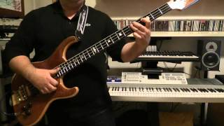 Bass Cover - Simple Minds - Colours Fly and Catherine Wheel - with Alembic Elan bass