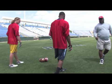 How to Play Football : Tips on Being a Wide Receiver