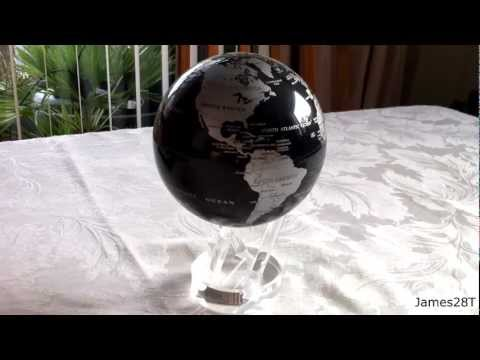 ★☆ MovaGlobe - Solar Powered Revolving Globe ☆★