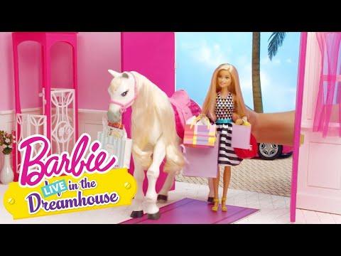 TAWNY UND BARBIE ZIEHEN LOS | Barbie LIVE! In The Dreamhouse | Barbie Deutsch | Videos für Kinder