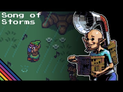 Song of Storms 16-BIT (A Link to the Past Style) - The Legend of Zelda: Ocarina of Time