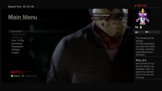 Friday the 13th: part 3 trying to survive against jason (ps4)