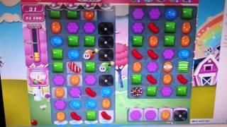 Candy Crush Saga Level 949 - 1 Star No Boosters!
