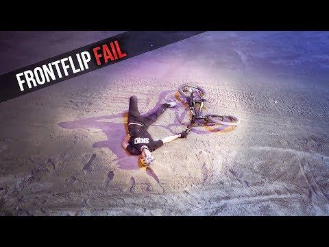 Flat drop Frontflip in front of 8000 people |Sick Series#44