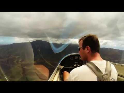 Honolulu Soaring - Glider over Mokuleia 1080p60 HD
