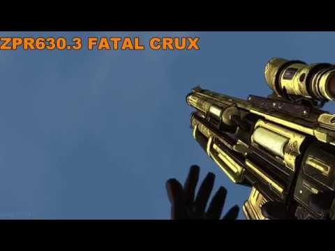 31 Random Weapons From Borderlands In Slow Motion 60 Fps Full Hd