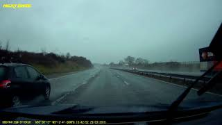2018-03-29 - Peugeot DC15OJM driver speeds up while being overtaken