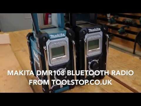 Makita DMR108 Bluetooth Job Site Radio - From Toolstop