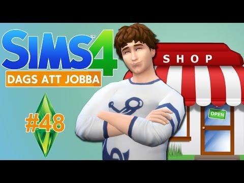 The Sims 4 | Dags att jobba - Butik!! #48